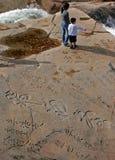 岩石身分 图库摄影