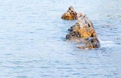 岩石锐利 库存图片