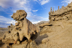岩石雕象 免版税库存图片