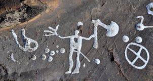 岩石雕刻 免版税库存图片