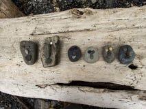 岩石面孔 免版税库存图片
