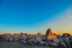 岩石领域 免版税库存图片