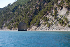 岩石风帆 图库摄影