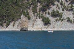 岩石风帆 免版税库存照片