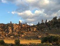 岩石风景 免版税库存图片