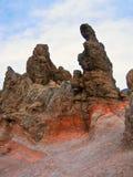 岩石风景tenerife 库存照片