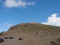 岩石高峰的矛 库存图片