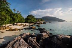 岩石,酸值Lipe海岛-泰国, 库存照片
