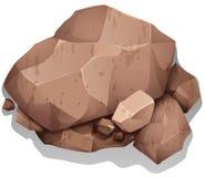 岩石 向量例证