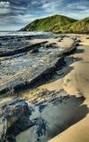黑岩石- Salika野生生物储备 免版税库存照片
