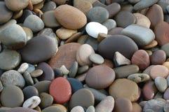 岩石1个的背景 免版税库存照片