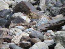 岩石Bachground 图库摄影