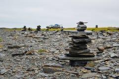 岩石pyamid seyd 库存照片
