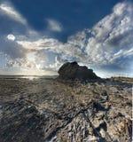岩石scape 免版税图库摄影