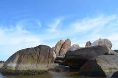 岩质岛 库存照片