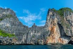 岩质岛 免版税图库摄影