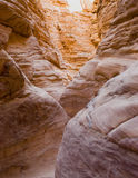 峡谷上色了 免版税库存图片