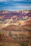 峡谷五颜六色全部 图库摄影