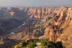 峡谷五颜六色的全部横向 免版税库存图片