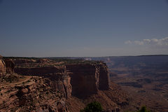 峡谷俯视shafer 库存照片
