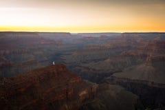峡谷全国越野障碍赛马公园视图 免版税图库摄影