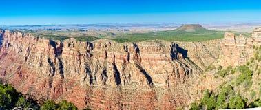 峡谷全部全景视图 库存照片