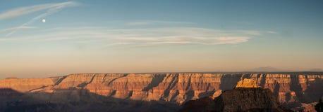 峡谷全部全景 库存照片