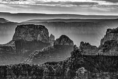 峡谷全部北部外缘 库存照片