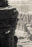 峡谷全部岩石 免版税库存图片