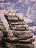 峡谷全部岩石 库存照片