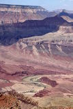 峡谷全部横向 免版税库存图片