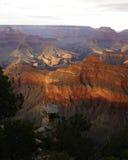 峡谷全部视图 库存图片