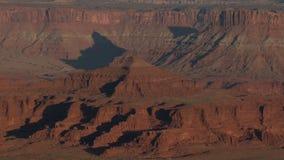 峡谷全部超出日落 影视素材