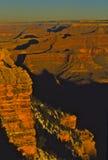 峡谷全部辉煌 库存照片