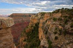 峡谷全部风景视图 免版税库存图片