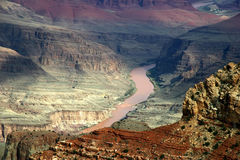 峡谷全部风景 库存照片