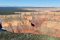 峡谷全部高原 库存照片