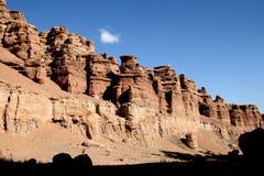 峡谷公园在亚洲哈萨克斯坦 库存图片