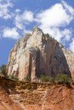 峡谷国家公园zion 免版税库存图片