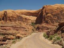 峡谷国家 库存图片
