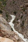 峡谷国王 库存照片