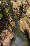 峡谷在伊萨卢国家公园在马达加斯加 图库摄影