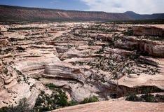 峡谷在犹他 图库摄影