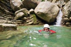 峡谷在西班牙 免版税库存照片