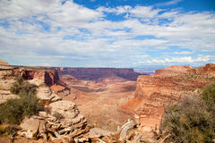 Canyonlands国家公园犹他 免版税库存照片