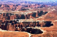 峡谷地产国家公园 免版税库存照片