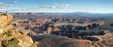 峡谷地国家公园风景 免版税库存照片