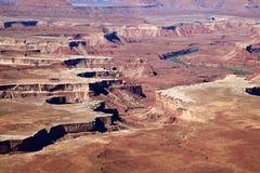 峡谷地国家公园 免版税库存照片
