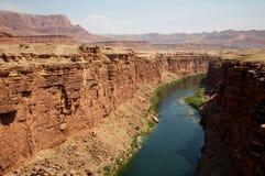峡谷大理石 库存图片