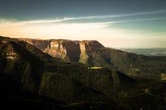 峡谷太阳光 库存照片